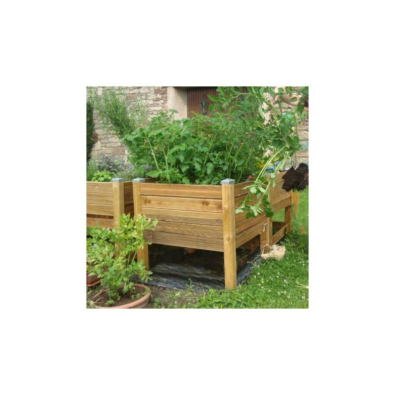 potager en bac potager sur pied pas cher carr potager en bois potager en hauteur. Black Bedroom Furniture Sets. Home Design Ideas