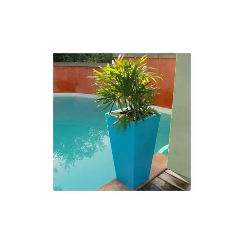 Pot de fleur plastique pot de fleur haut pot de fleur Pot exterieur design pas cher