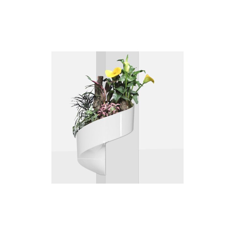 pot de fleur design pot mural pot de fleur mural cache pot mural cache pot design. Black Bedroom Furniture Sets. Home Design Ideas