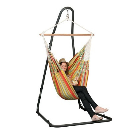 Support pour hamac chaise