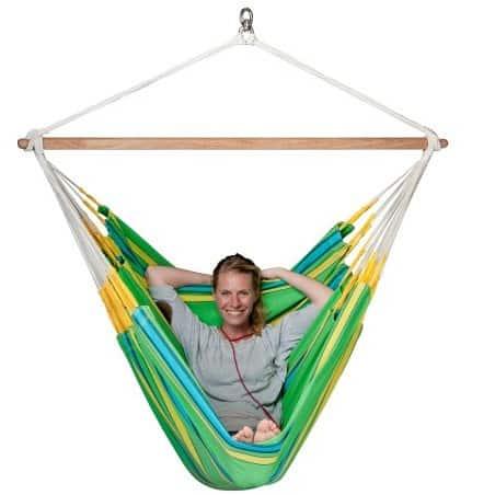 Hamac chaise Lounger Currambera vert
