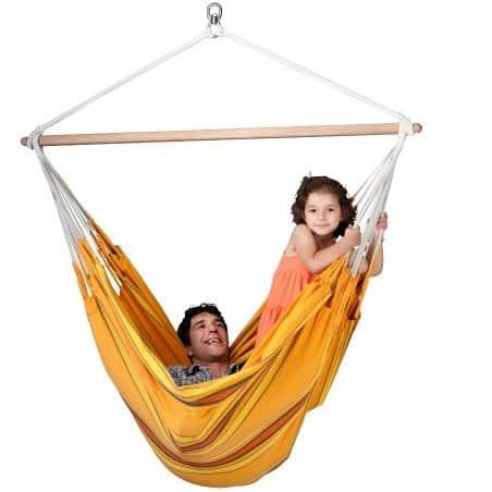 Hamac chaise Lounger Currambera orange