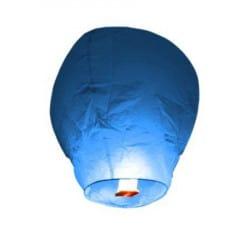 Lanterne volante bleue X 5