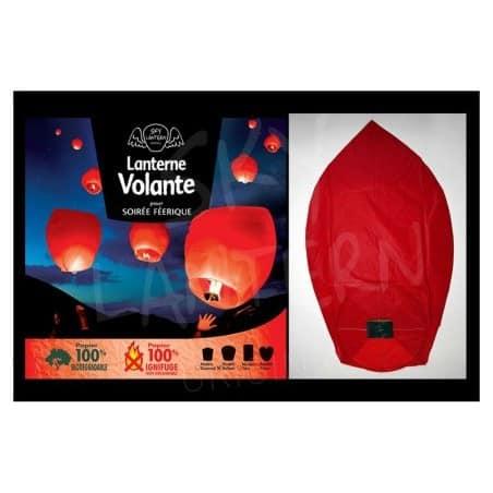 Lanterne volante rouge x 1