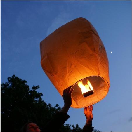 Lanterne volante rose X 1