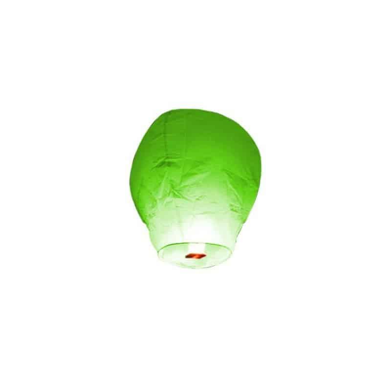 Lanterne volante verte X 1