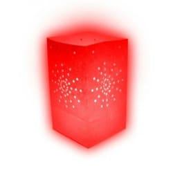 Lanterne papier rouge (x10)