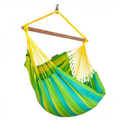 Hamac chaise simple Sonrisa lime