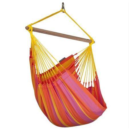 Hamac chaise simple Sonrisa mandarine
