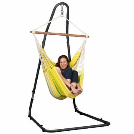 Hamac chaise simple Islena lemon