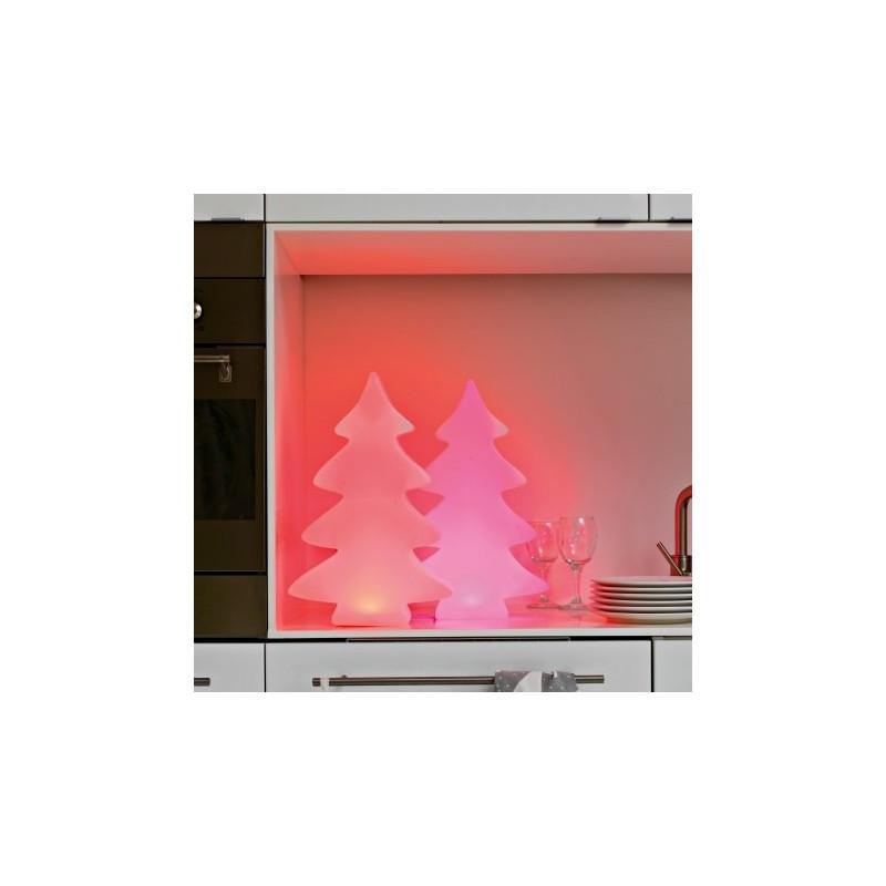 Sapin lumineux LED multicolore d'intérieur 40 cm