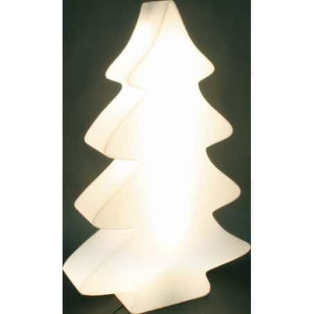 Sapin lumineux blanc lumineux indoor et outdoor 82 cm