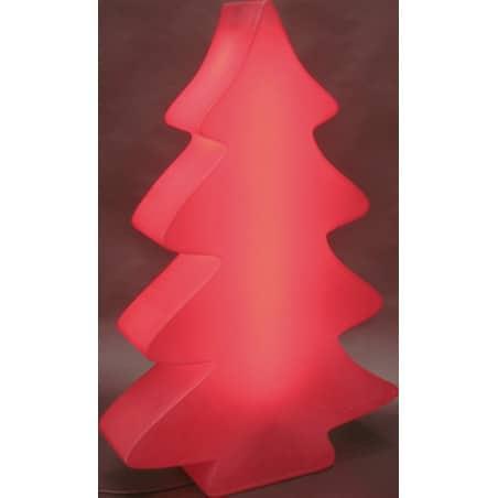 Sapin lumineux rouge indoor et outdoor 82 cm