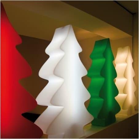 Sapin lumineux blanc indoor et outdoor 115 cm