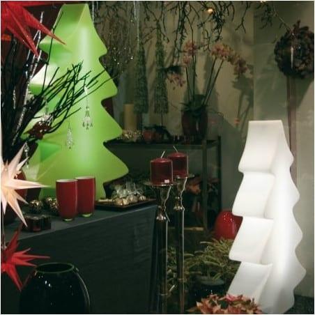 Sapin lumineux blanc éclatant indoor et outdoor 115 cm