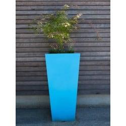 Pots de fleurs design et jardini res de balustrade for Pot colore exterieur