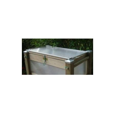 Couvercle de bac de terrasse 80 x 50