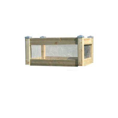 Rehausse pour bac de terrasse 80 x 50