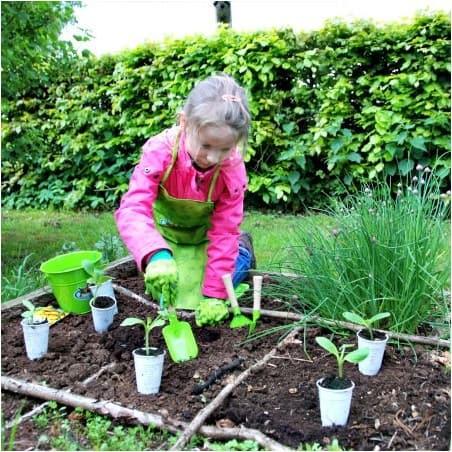 Set outil jardin enfant Kids in Garden