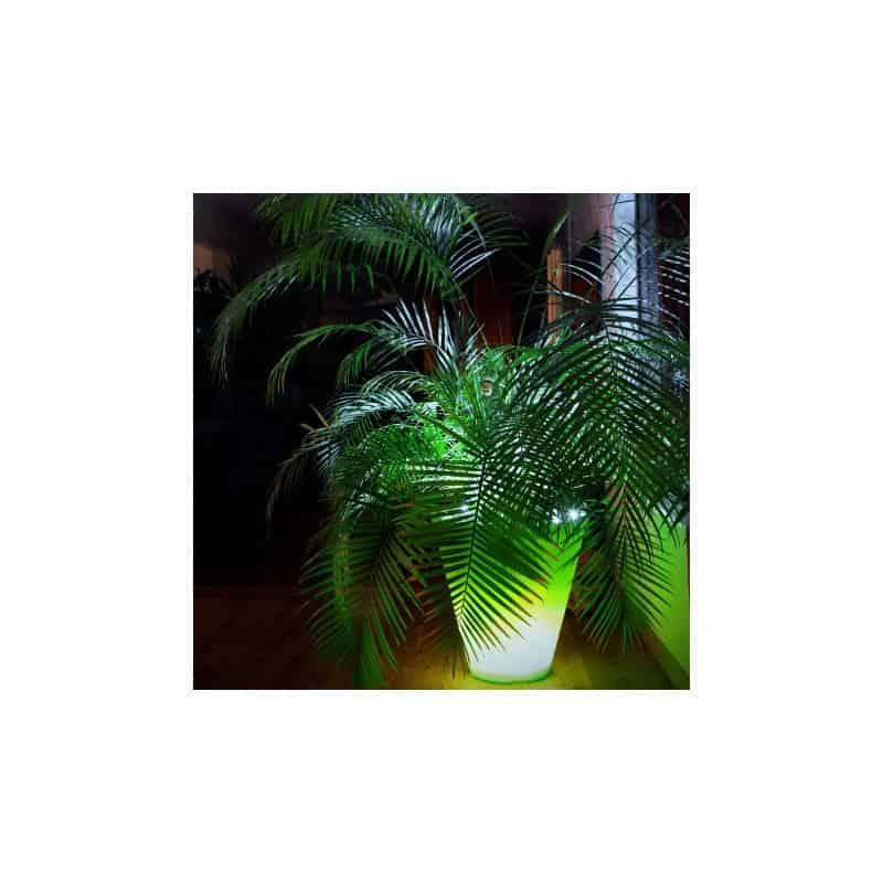 Pot de fleur lumineux Open M 80 cm