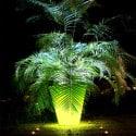Pot de fleur lumineux Open L 120cm