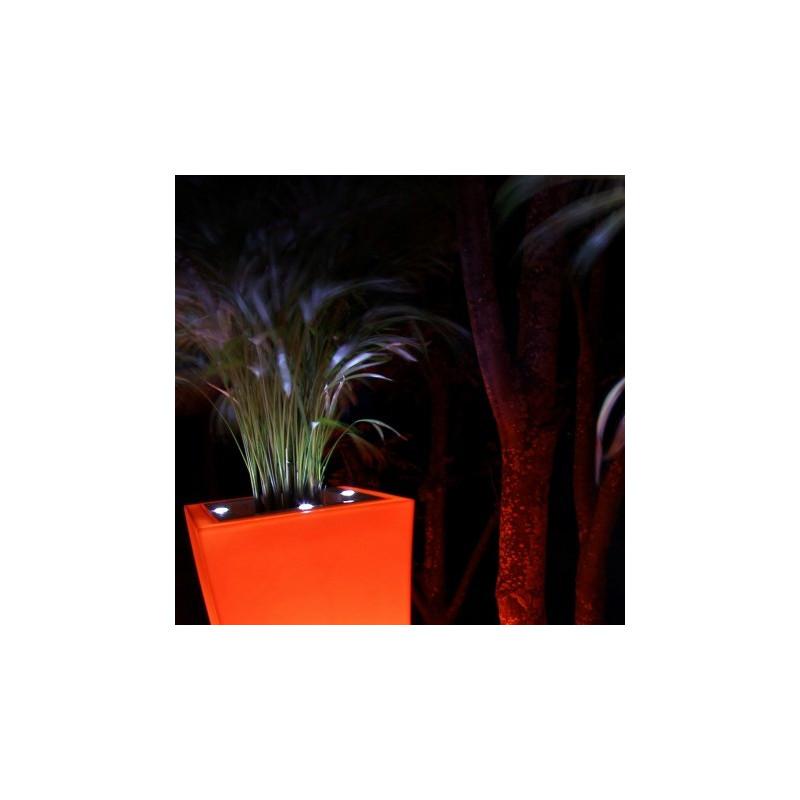 Pot de fleur design à LED Stark M Double 1M