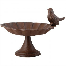 Mangeoire oiseau en fonte