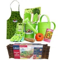 kit outils de jardinage pour enfants et cache pots lumineux pr t jardiner. Black Bedroom Furniture Sets. Home Design Ideas