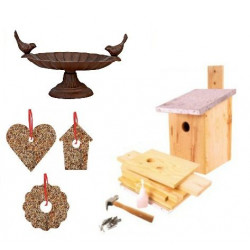 Kit j'herberge les oiseaux