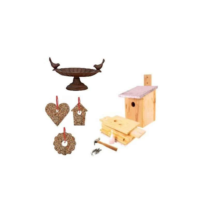 nichoir bois pour oiseaux nichoir assembler mangeoire oiseaux graines pour oiseaux pas cher. Black Bedroom Furniture Sets. Home Design Ideas