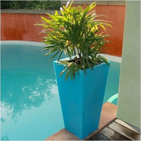 Pot de fleur Stark 80 cm bicolore
