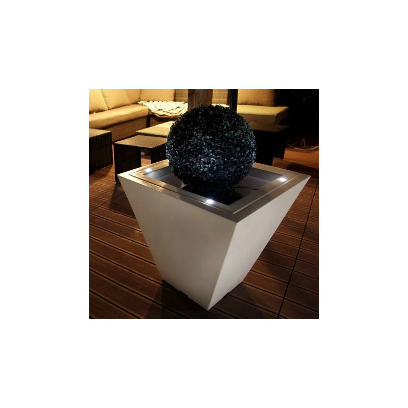 pots de fleur lumineux led pot de fleurs lumineux led pot de fleur ext rieur led pot. Black Bedroom Furniture Sets. Home Design Ideas