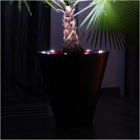 Pot de fleur lumineux LED  60cm