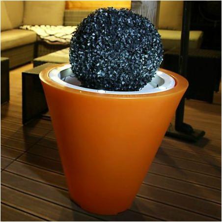 Pot de fleur lumineux LED 50 cm