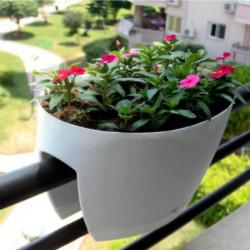 Balconnière blanche Mini Garden