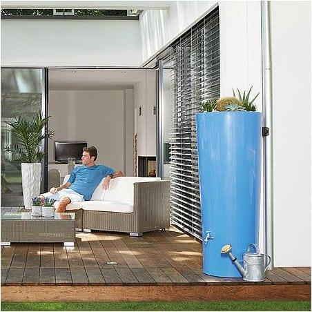 Récupérateur d'eau 350L et bac à plante - lavande