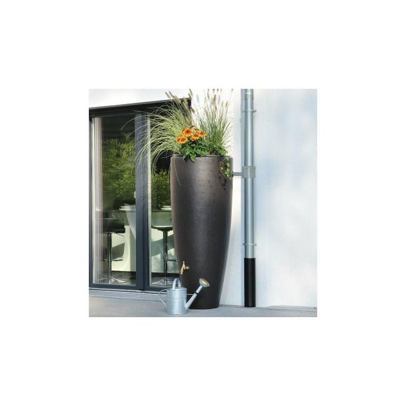 Récupérateur d'eau 300L - 2en1 - Moka