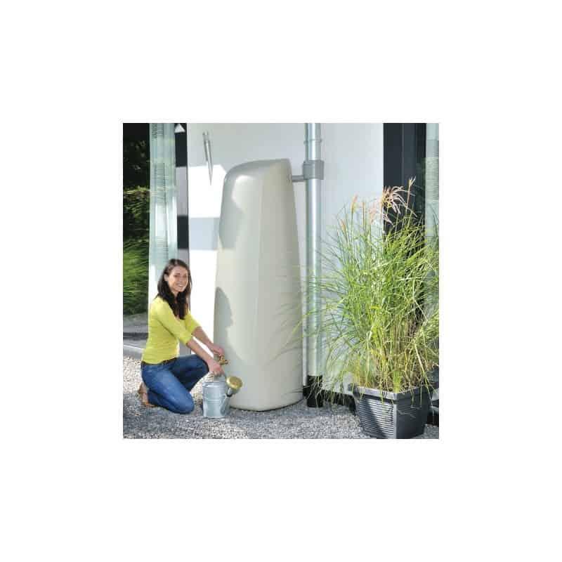Récupérateur d'eau 400L - Elégance - Sable