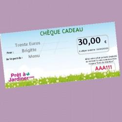 Chèque Cadeau Nature 30€