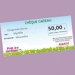 Chèque Cadeau Nature 50€