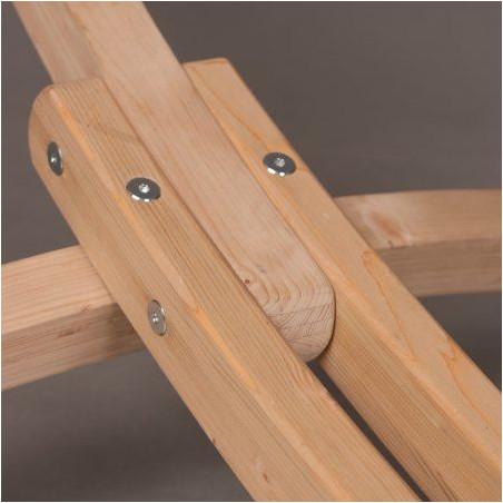 Support bois pour hamac double CANOA