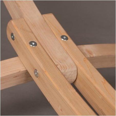 Support bois pour hamac familial CANOA
