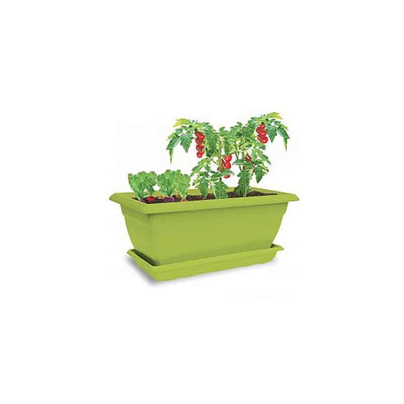 jardini re plastique color radis tomates cerises. Black Bedroom Furniture Sets. Home Design Ideas