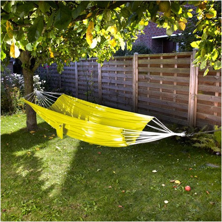 Hamac simple parachute jaune