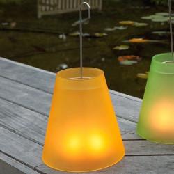 Lampe photophore jaune
