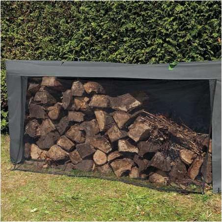 Bâche pour bois modulable 2 stères