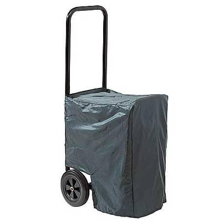 Chariot range bûches avec housse de protection