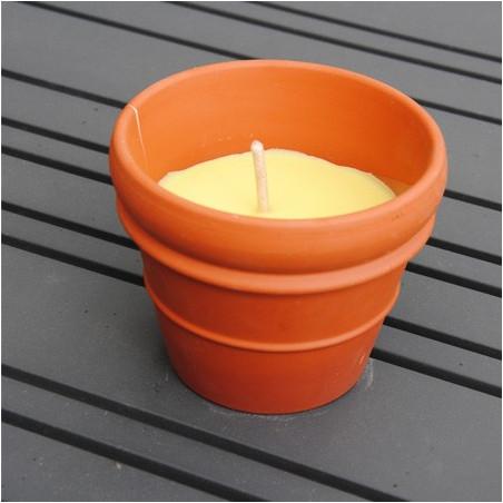 Bougie parfumée citronnelle en céramique