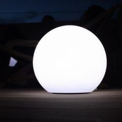 Lampe solaire Boule sans fil