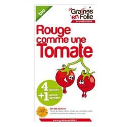 Coffret Graines de tomates Bio